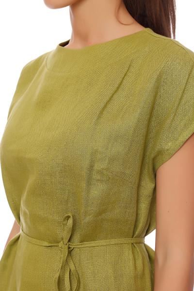 Льняные платья оптом 5250-1
