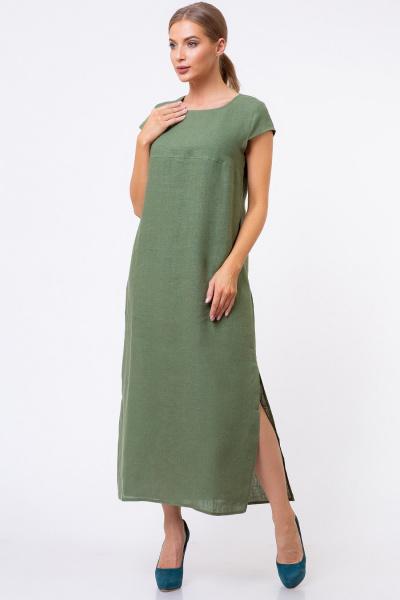 Льняные платья оптом 5169-18