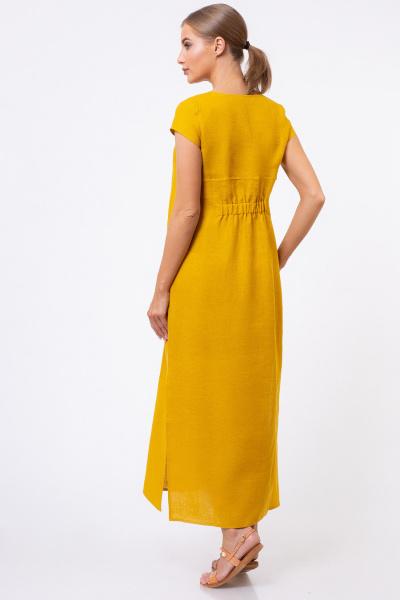 Льняные платья оптом  5169-42