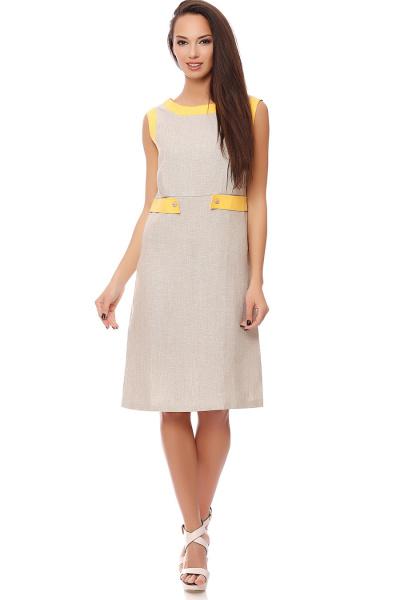 Льняные платья оптом 5199-4